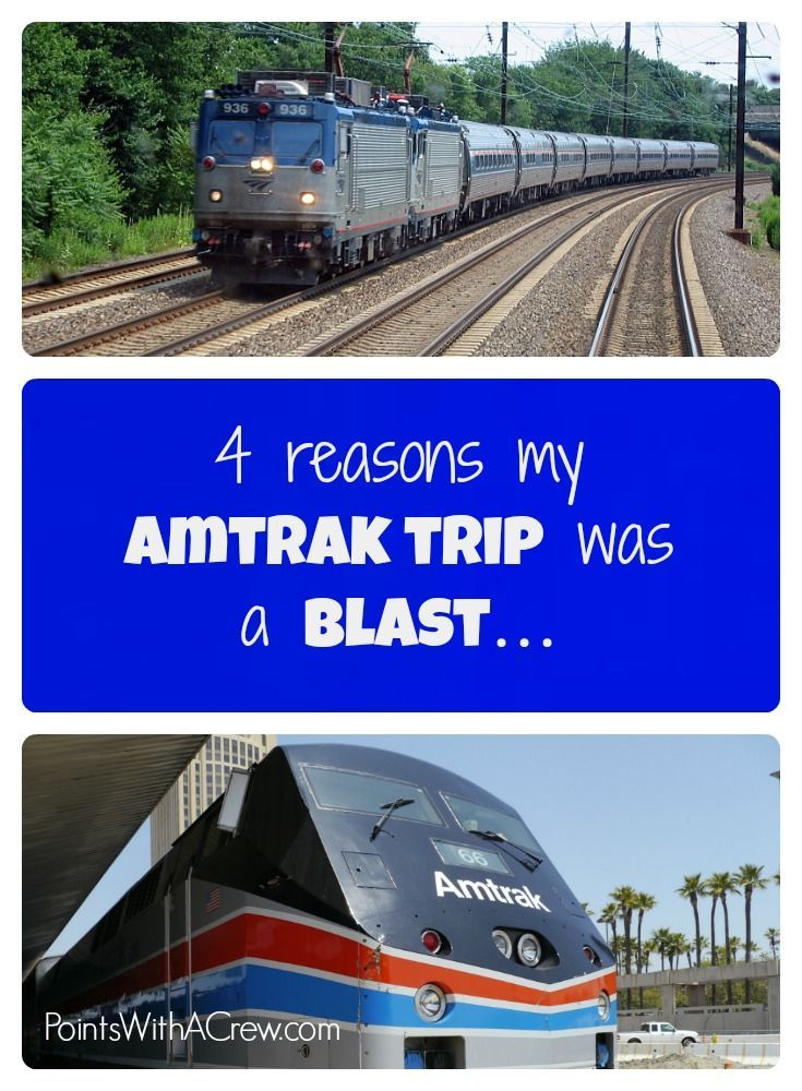 If your kids or family are taking an Amtrak train on your bucket list, here are 4 reasons why our travel was amazing
