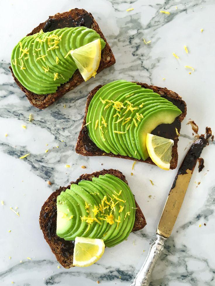 Avocado toast, vegemite, lemon zest