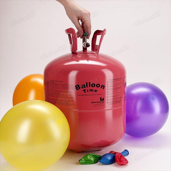 Tanque de tamaño perfecto. Infla los globos para tu fiesta o evento social fácilmente.