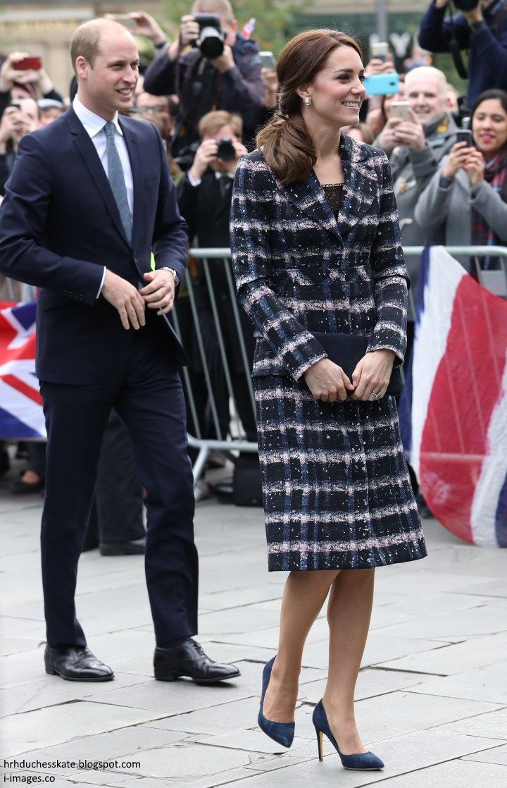 The Duke and Duchess of Cambridge travelled to Manchester for a day of engagements. Royal 'away days' tend to offer an excellent variet...