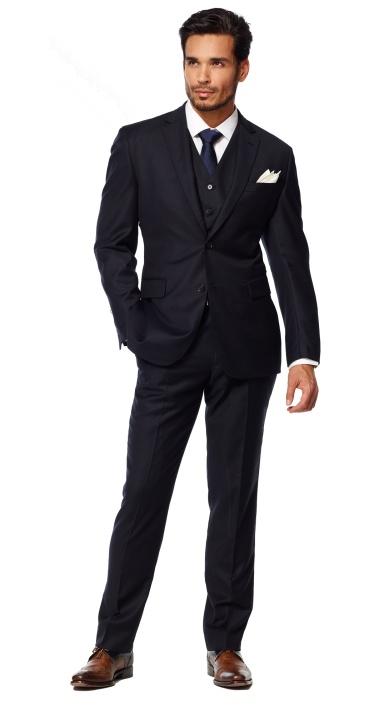 12 best images about Wedding suits on Pinterest   Navy blue suit ...