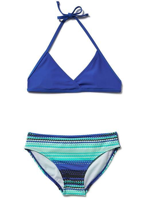 Old Navy   Two-Piece Triangle Bikini for Girls