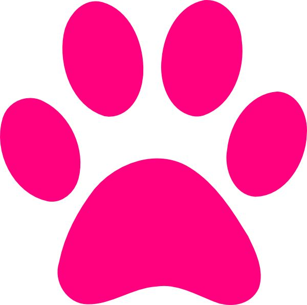 pink panther | pink panther paw print clip art ,