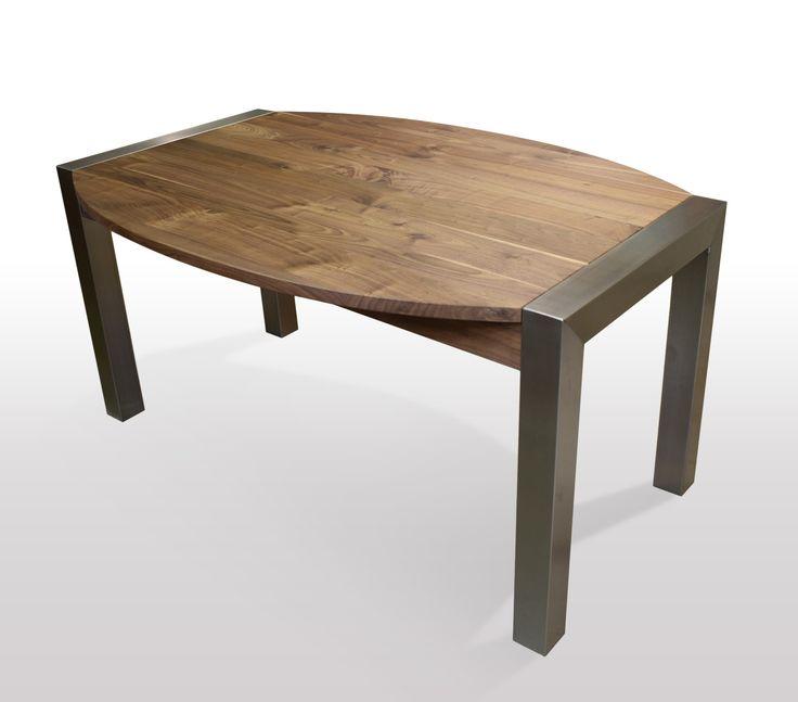 Great Tisch Nussbaum Massiv Breite Cm Lnge Whlbar Esstisch With Esstisch  Bootsform Ausziehbar