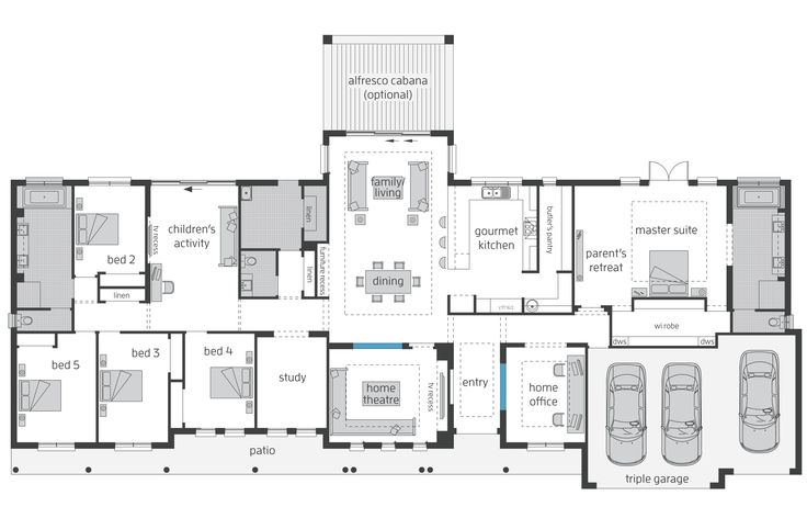 Best 25 australian house plans ideas on pinterest 5 for Manor farm house plan