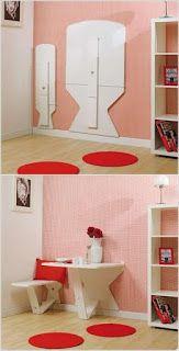 hauzdesign: Beberapa Ide Desain Furniture Untuk Mengakali Ruan...