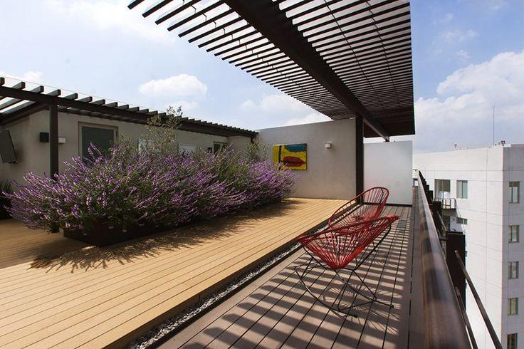 Penthouse HT, Puebla City, 2015 - Dionne Arquitectos
