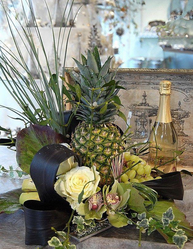 Bjarne Als' New Year decoration. Photo Nina Ewald