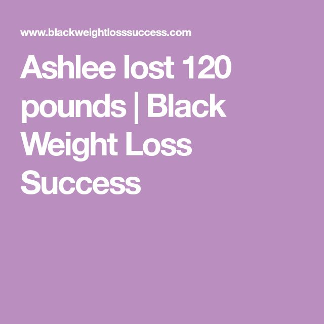 Ashlee lost 120 pounds | Black Weight Loss Success