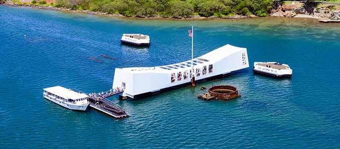 Oahu Circle Island Tour with Pearl Harbor from Maui