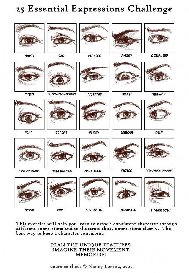 eye brows expressions - Recherche Google