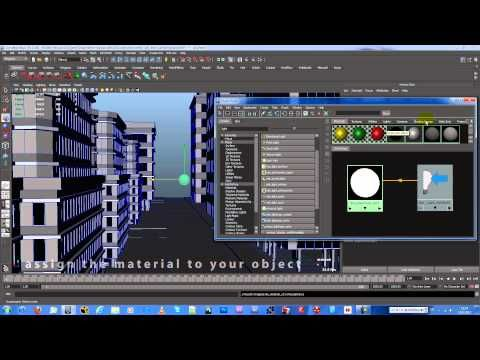 ▶ How to emit light from Objects in Autodesk Maya [Full HD] - YouTube