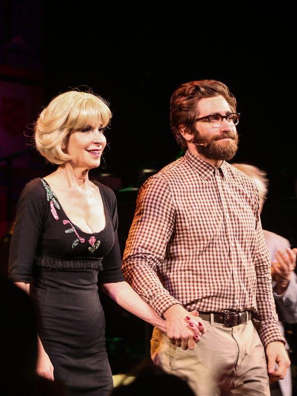 Bravo! Little Shop of Horrors stars Ellen Greene and Jake Gyllenhaal take a bow.