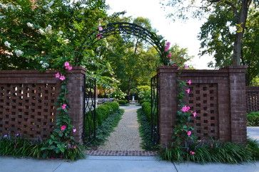 Brick Fence Design Ideas, Pictures, Remodel, and Decor