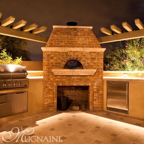 Residential Oven Exterior Installation Mugnaini