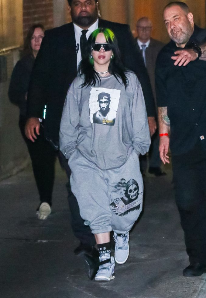 A Look At Billie Eilish S Signature Oversized Style In 2020 Billie Billie Eilish Street Style