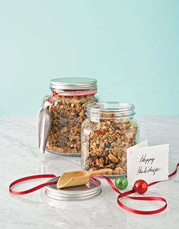 YummyFood Gifts, Christmas Food, Edible Gift, Homemade Granola, Home Made Food, Gift Ideas, Homemade Food Gift, Christmas Gift, Homemade Gift
