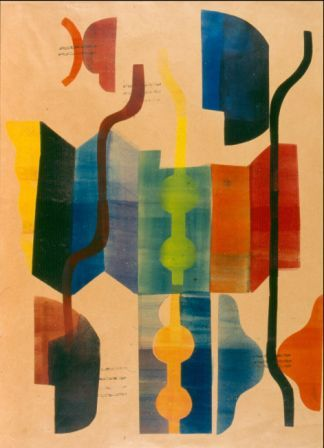H.N. Werkman - Composition, 1936