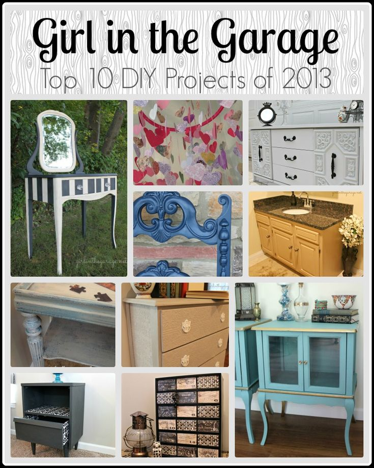 Girl in the Garage: Top 10 DIY Projects of 2013