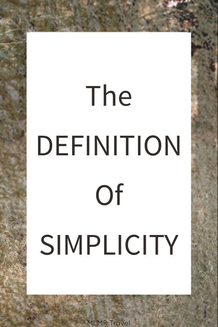 Pin On Simplicity