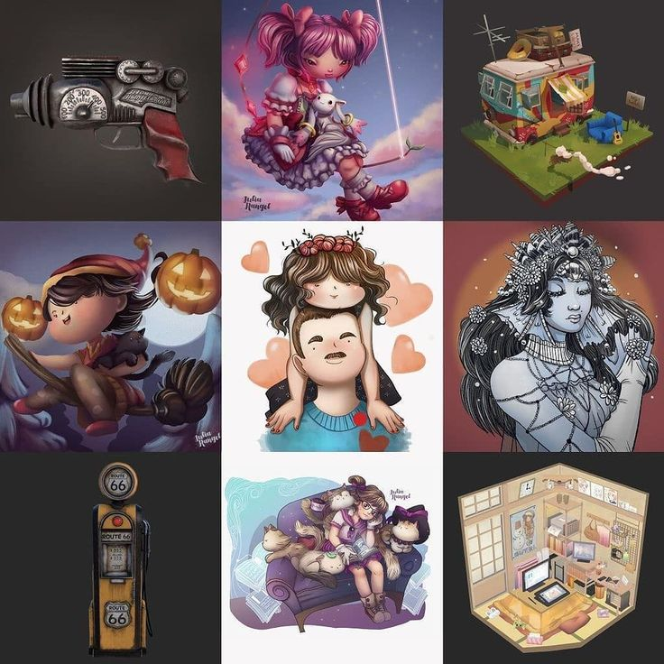 The best nine of this year! it was a very productive year........... #art #artist #bestnine2017 #bestnine #instaart #instaartist #aratistsoninstagram #artofinstagram #visdev #visualdevelopment #illustration #ilustracion #painting  #pintura #drawing #dibujo #digitalart #mexicanartist #girlsinanimation #artoftheday  #2017bestnine #3dartist