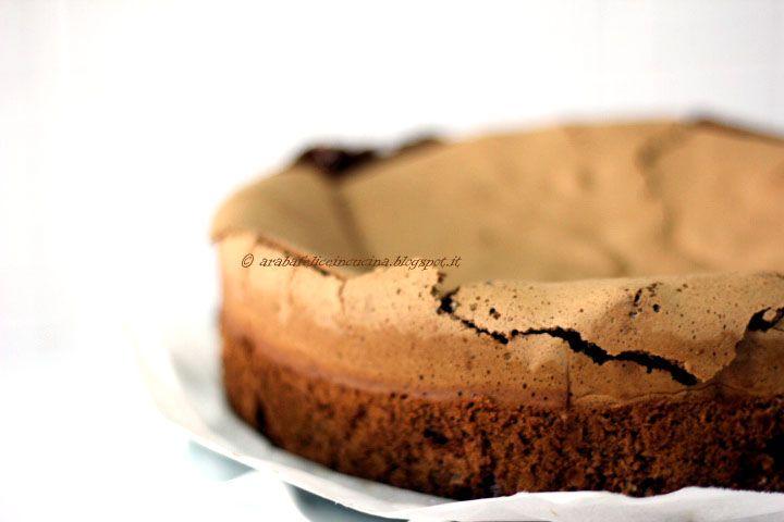 Arabafelice in cucina!: Torta al cioccolato e caffè, senza farina e senza lievito