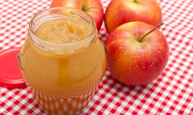 Mermelada de manzana