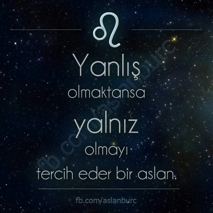 Cigdem Ozer Adli Kullanicinin Horoscope Panosundaki Pin Aslan Burclar Motivasyon Alintilari
