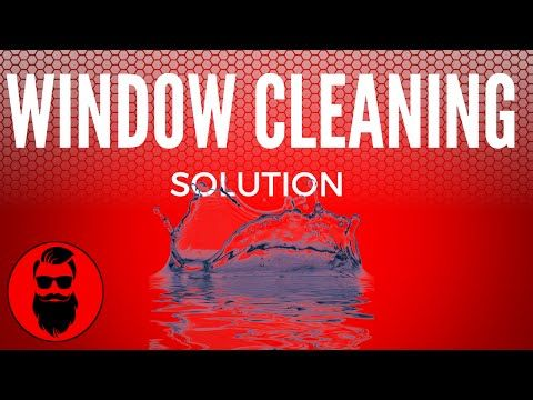Homemade Window Cleaner | At Home With P. Allen Smith - YouTube