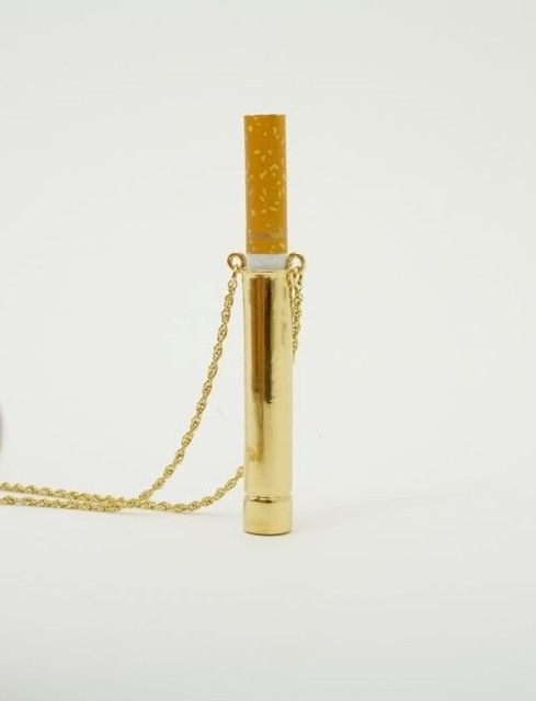 Cigarette-Holder necklace - I don't even smoke anymore and I still want it!
