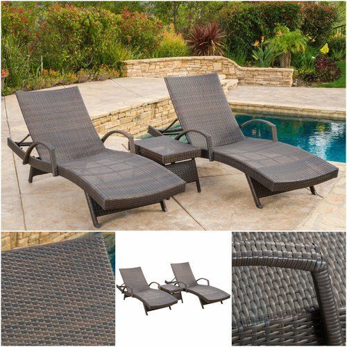 Pool-Chaise-Lounge-Set-3-Piece-Furniture-Outdoor-Wicker-Sun-Chairs-Recliner-Sun