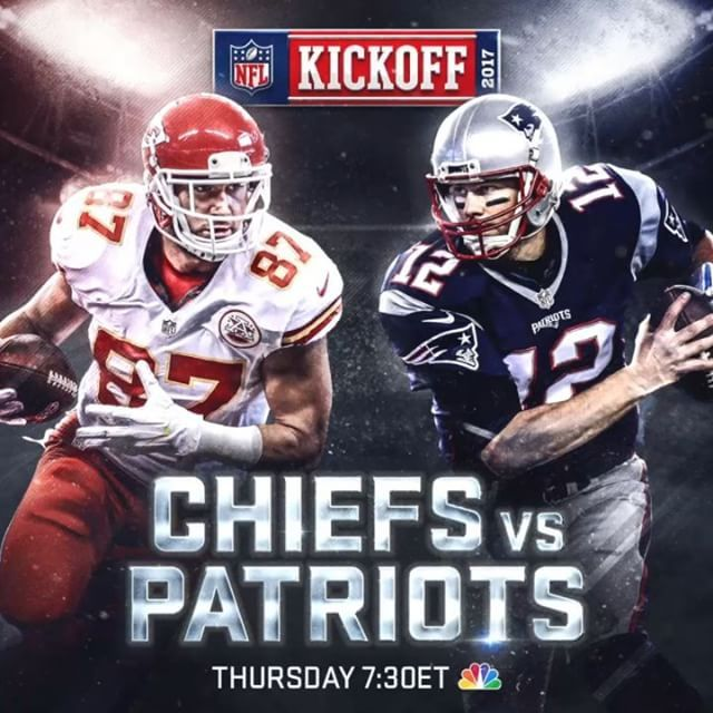 Football returns to NBC tonight! Will the @Chiefs upset the @Patriots in Foxboro? Or will New England open the Blitz for 6 with a win?   #NFLKickoff #patriots #newenglandpatriots #chiefs #kansascitychiefs #nfl #snf