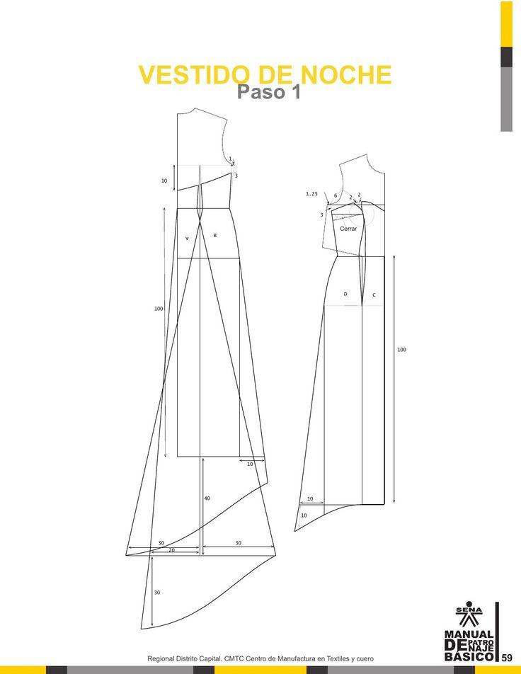 Manual patronaje Tgo en diseño para la industria de la moda Garzon - Huila por HOLMAN RAUL