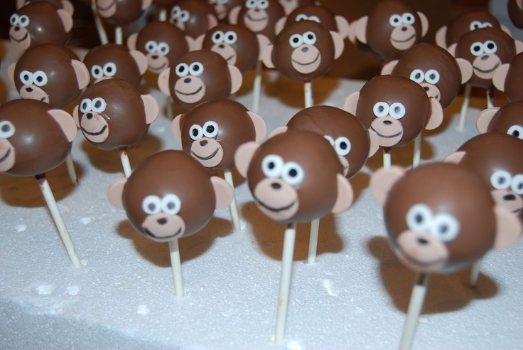 Leelees Cake-abilities: Monkey Cake pops