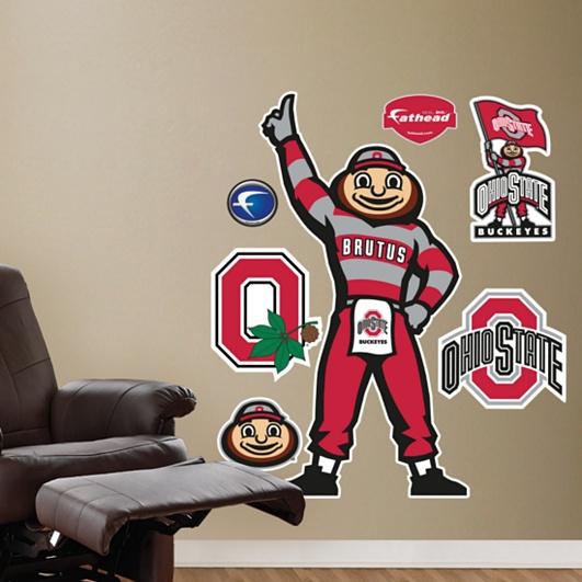 Ohio State Buckeyes Mascot - Brutus Buckeye