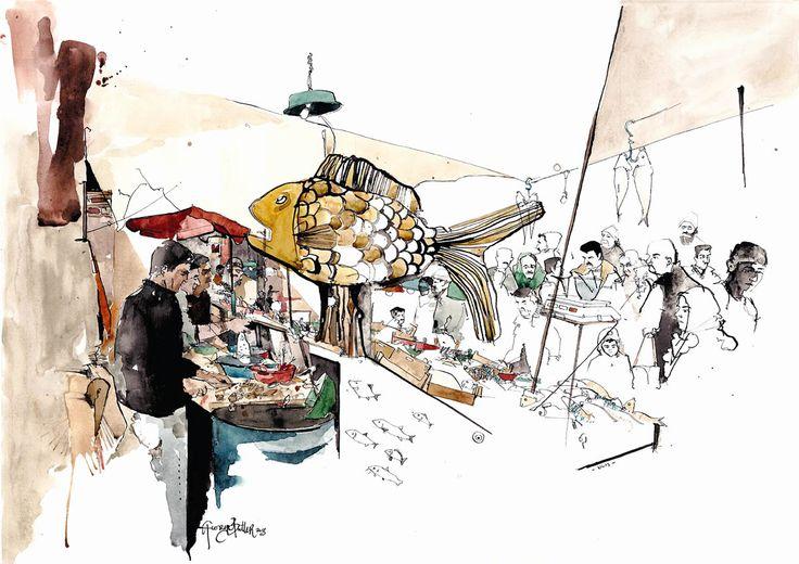 The Illustration Cupboard-George Butler Art