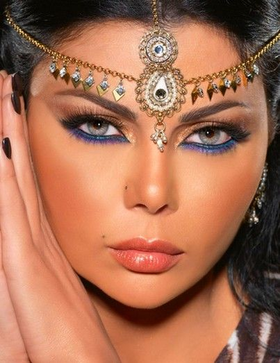 Meu Mundo Pink by Adry Mariah: Maquiagem Indiana.!