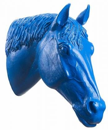 Ottmar Hörl - Pferdekopf (unsigniert)