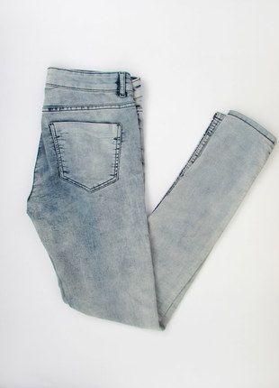 Kup mój przedmiot na #vintedpl http://www.vinted.pl/damska-odziez/rurki/13059575-hm-nowe-marmurkowe-jeansy-rurki-r-m
