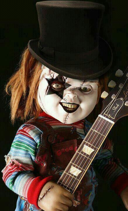Why didn't anyone tell me that Chucky joined Kiss?