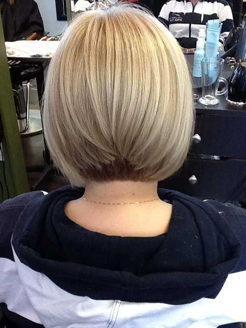 Back View Of Graduated Bob Hairstyles - Easy Hairstyles