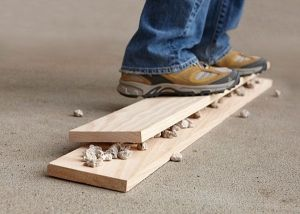 Distressing Wood by Hand - Lowe's Creative Ideas by maxine