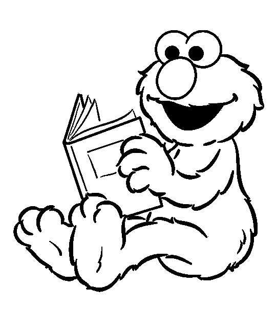 15 best color pages images on pinterest | sesame streets, birthday ... - Sesame Street Coloring Pages Elmo