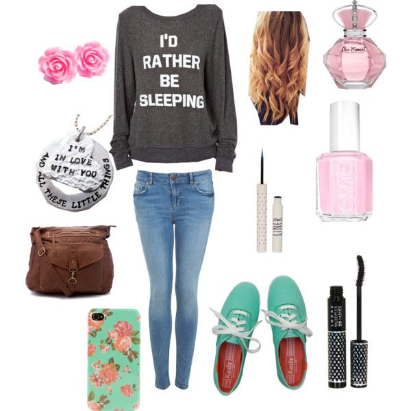 Cute outfit for school! @SECRET AGENT MARIAH  what do u think?