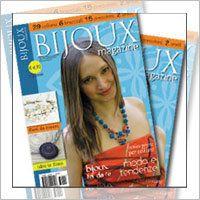 """rivista """"Bijoux magazine"""" n.2 idee per creare"""