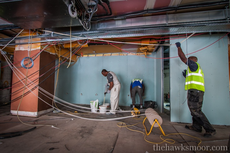 Wiring going in #building site #renovation #airstreet #piccadilly