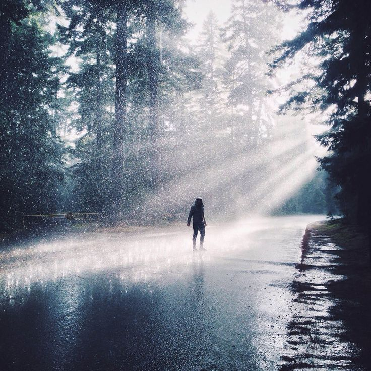 Rain at Little Qualicum by @tomparkr