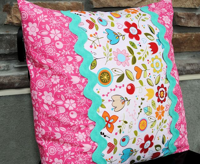 Learn how to make your own envelope pillows! They're a fun way to add some color and charm to any room and require few materials. Click-in for the full tutorial, courtesy of Crazy Little Projects.
