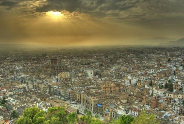 IMAGEN: GRANADA desde la Torre de la Vela