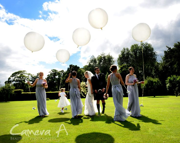Something very different but white balloons make a great photograph.